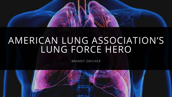 Brandy Zwicker - American Lung Association's Lung Force Hero